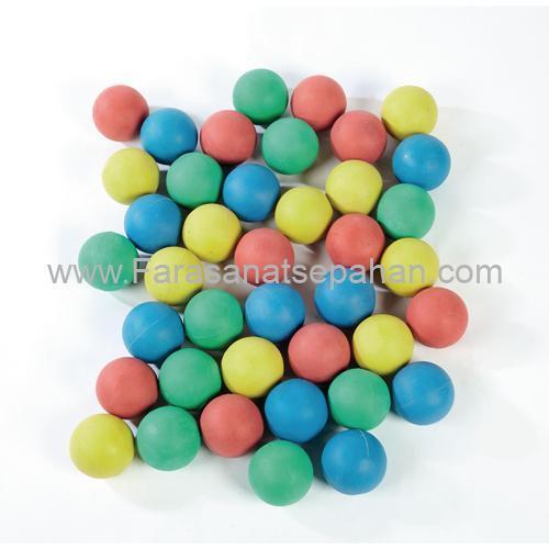 توپ های لاستیکی